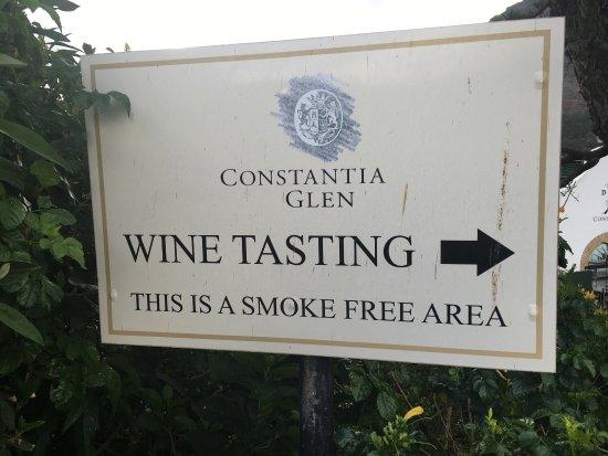 Constantia, Sydafrika: Eine ganz tolle Weintestung