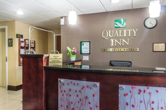 Quality Inn near Mountain Creek: Lobby