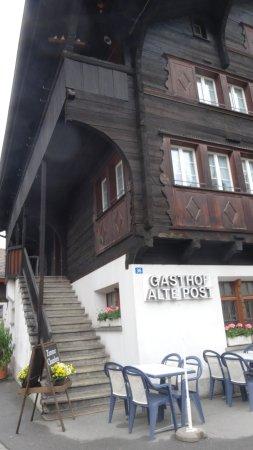 Wassen, Schweiz: Vue extérieure partielle