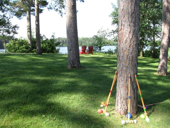 Trego, WI: Heartwood Croquet