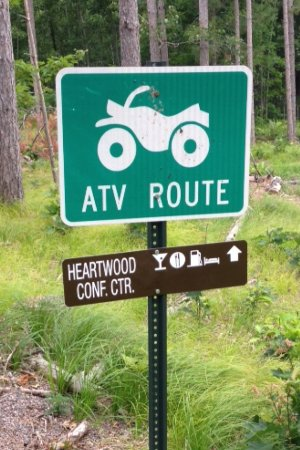 Trego, WI: Heartwood ATV route