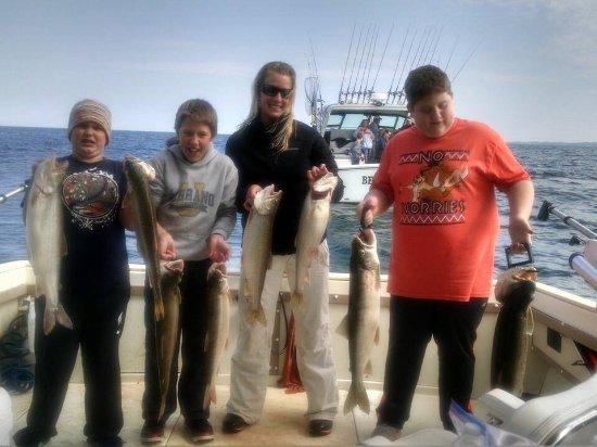 Saugatuck, MI: Best Chance Charter Fishing