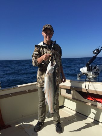 Saugatuck, MI: Best Chance Charter Fishing