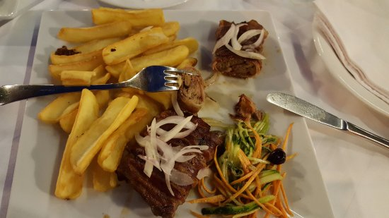 Restaurant ALKA: Chicken liver in bacon
