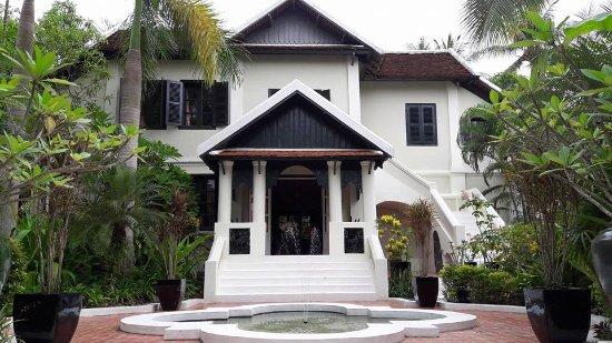 Villa Maly: Enterance