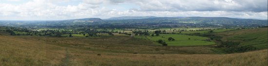 Barley, UK: From the lower reaches of Pendle Hill