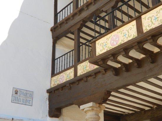 Tembleque, Spanje: Placa de la Plaza