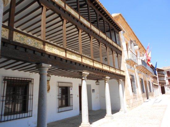 Tembleque, Spanje: Soportales