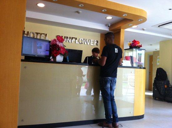 Fragrance Hotel - Sunflower : 櫃台