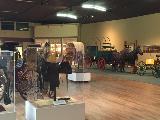 Ruidoso Downs, NM: inside of museum