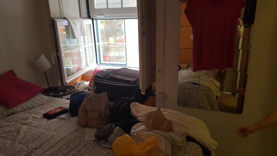 Alface Hostel Lisboa: quarto duplo com banheiro privativo