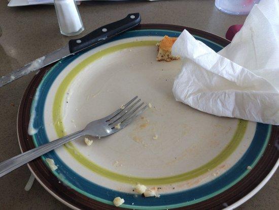 Wildersville, TN: Happy plate!