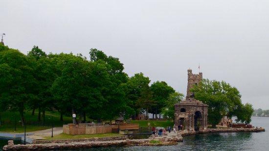Gananoque, Canada: Boldt island and castle