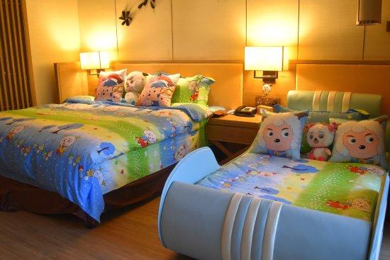 Yangjiang, China: kids room