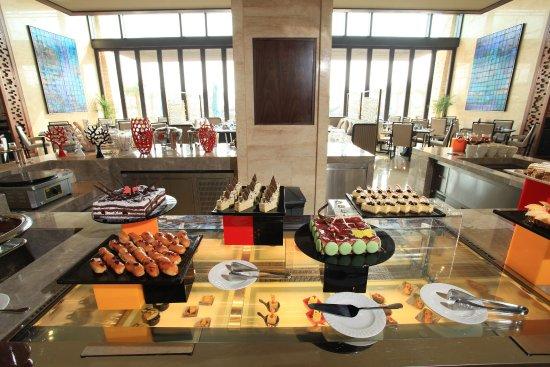 Yangjiang, China: Breakfast Bar