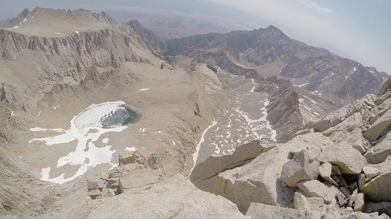 Mount Whitney : Higher up the route