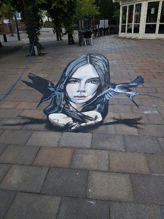 Brande, Дания: Street art