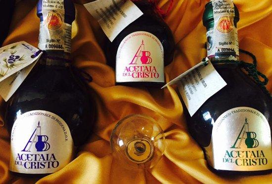 Bomporto, Włochy: ready to tate the amazing favour of real Aceita di Modena