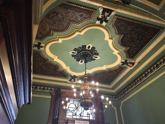 Bar Mancera: Beautiful ceilings