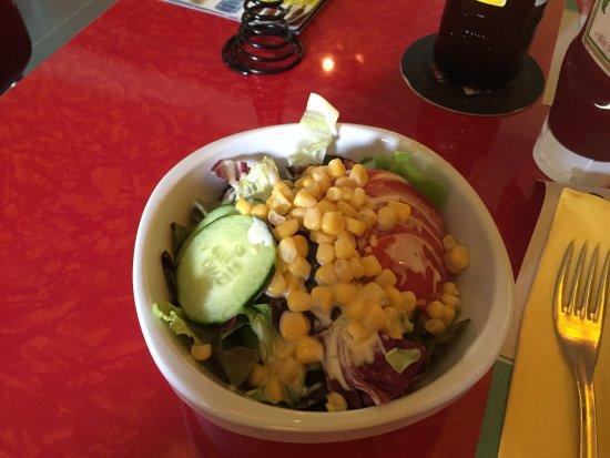 Erlinsbach, Sveits: Gemischter Salat
