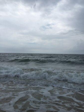 East Beach : Rain or shine, gorgeous beach!