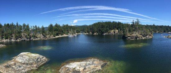 Halfmoon Bay, Καναδάς: Smuggler's Cove