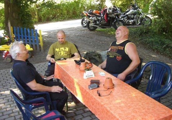 Weilburg, Allemagne : Biker