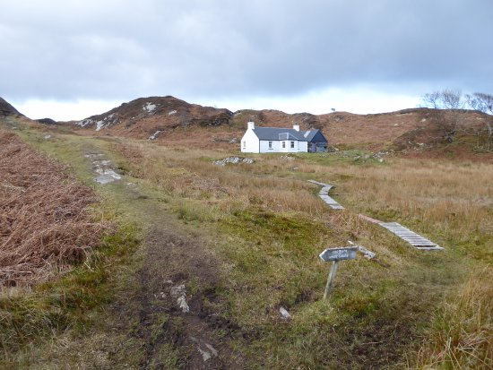 Glenuig, UK: Footpath to White Sands beach