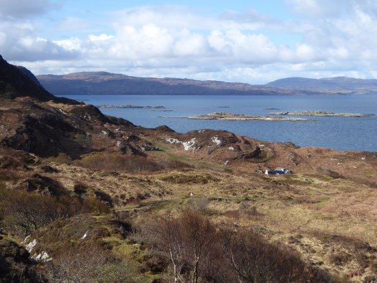 Glenuig, UK: Looking south to the Ardnamurchan Peninsula
