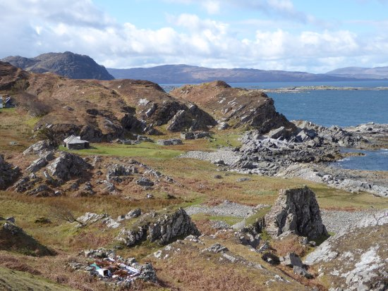 Glenuig, UK: Remote coastal clearance village