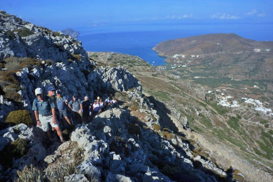 Tholaria, اليونان: Trekking in the Wild Beauty