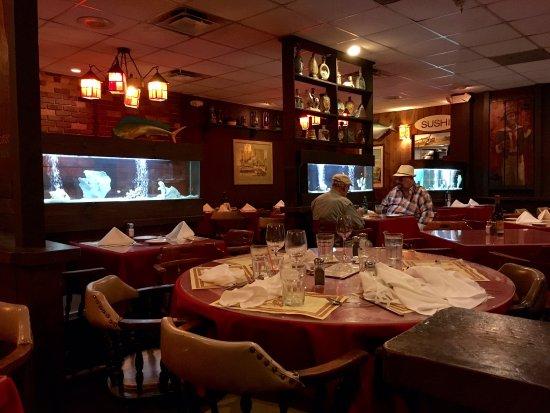 เซาท์ไมอามี, ฟลอริด้า: Interior del restaurant