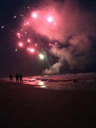 Ocean Isle Inn: Best view of fireworks