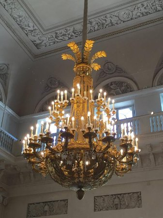 Giant chandeliers - Picture of State Hermitage Museum and Winter ...