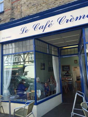 Birchington, UK: Le Cafe Creme