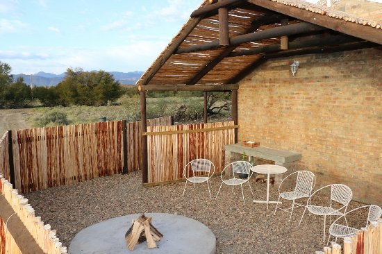 Prince Albert, África do Sul: Vygiebos Cottage outside braai area