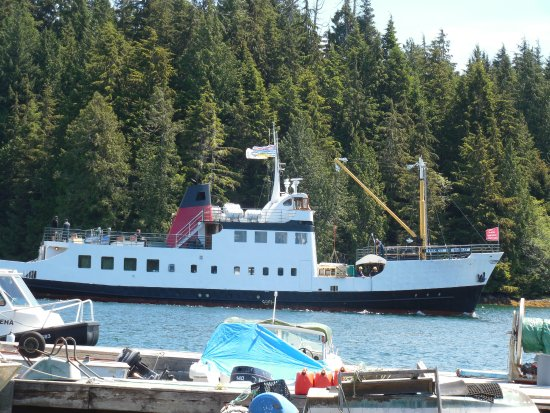 Port Alberni, Canadá: The Frances Barkley in Bamfield