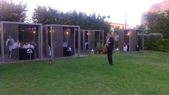 Castello Boutique Resort & Spa: Private dinner - Gazebo - Live saxophone