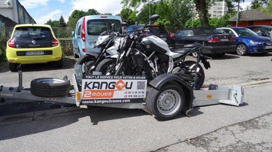 transport et d pannage de motos et scooters picture of kangou2roues collonges tripadvisor