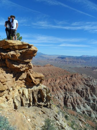 Springdale, UT: Viewpoint from Gooseberry Mesa