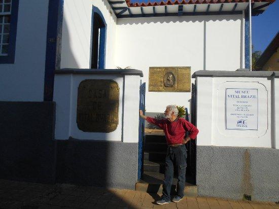 Campanha, MG: Fachada do Museu Vital Brasil.