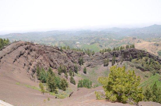 Widok na kalderę Pinos de Galdar