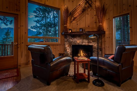 Mountain Home Lodge: Cabin Stuart's Roost