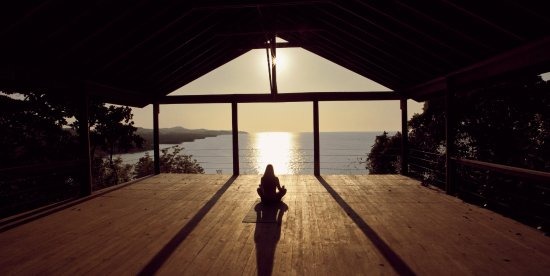 Paya Bay Resort: yoga