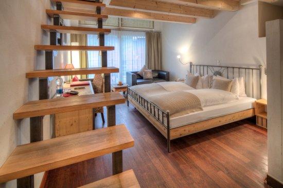 Alpenlodge: Quadruple Room Matterhornview