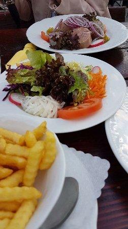 Dossenheim, Γερμανία: The sausage platter ... Highly recommended.