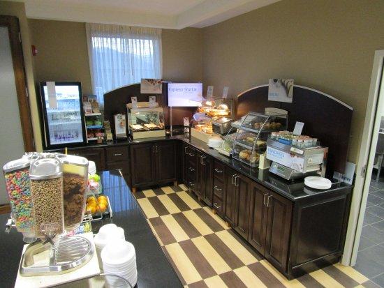 West Jefferson, นอร์ทแคโรไลนา: Express Start breakfast area