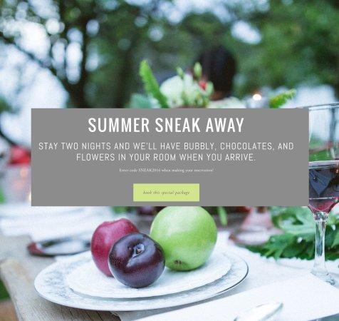 Granville, Ohio: summer SNEAK AWAY special