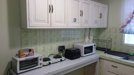 Managua Department, นิการากัว: Kitchenette appliances