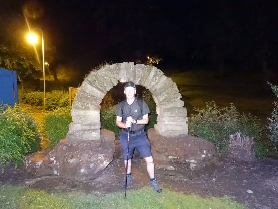 Sandstone Trail : My finish at Whitchurch - 11pm!
